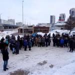 В Татарстане прошел первый митинг в защиту обязательного изучения татарского языка