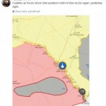 Американская авиация нанесла новый удар по позициям Асада и россиян (вероятно) возле Дейр-эз-Зор