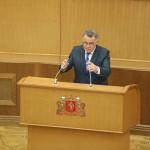 Заксобрание приняло в первом чтении закон об отмене выборов мэра Екатеринбурга