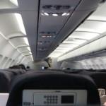 В самолете рейса Петербург — Архангельск начала отваливаться обшивка салона