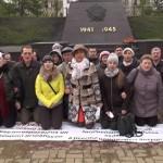 В Екатеринбурге обманутые дольщики сняли видеообращение к Путину, стоя на коленях
