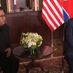 Дональд Трамп и Ким Чен Ын дважды пожали друг другу руки в Сингапуре
