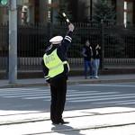 В Иркутске пьяный водитель сбил девять сотрудников полиции