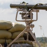 В Украине испытали противотанковый ракетный комплекс «Корсар».