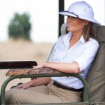Меланию Трамп осудили за то, что она появилась в Кении в образе «колониалиста»