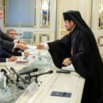 Петро Порошенко встретился с экзархами Вселенского Патриарха
