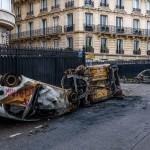 Крупнейший погром центра Парижа за прошедшие 30 лет (фоторепортаж)