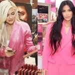 Ким Кардашьян повторила провокационный образ младшей сестры Кайли Дженнер