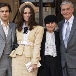 Кира Найтли внезапно посетила Букингемский дворец и получила орден
