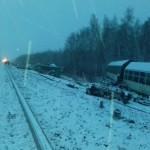В РФ разбился поезд с танками, которые везли боевикам Донбасса (фото)