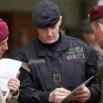 Украинские военные принимают участие в учениях НАТО в ФРГ (фото)