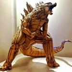 Тайваньский художник-самоучка создаёт потрясающие скульптуры из обычного картона