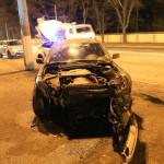 В Одессе в результате ДТП автомобиль пробил стену исправительной колонии