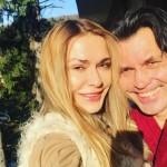Ольга Сумская с мужем встретила новый год в Карпатах