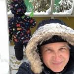 Юрий Горбунов сфотографировался с сыном