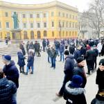 В Одессе «кинули» титушек