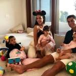 Криштиану Роналду вернулся к семье после суда