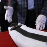 Изъятый у контрабандистов «меч викинга» передали в Софию Киевскую