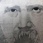 Инженер из Винницкой области написал портрет Шевченко микроскопическими буквами