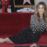 Супруга Тома Хенкса удостоилась именной звезды на «Аллее славы»