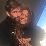 Романтика на обочине: Шакира и Жерар Пике сделали селфи на автомойке