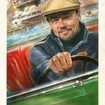 Появилось несколько стильных постеров к фильму «Однажды в Голливуде»