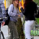 Очень похорошевшая Сара Джессика Паркер прогулялась по Нью-Йорку