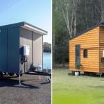 Австралийка разработала 5 моделей крошечных домиков