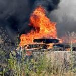 В зоне ООС произошел пожар: подозревают диверсию