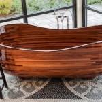 Американец создал коллекцию деревянных ванн, которые можно спутать с произведениями искусства