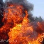 В оккупированном Донецке у оккупантов горит склад боеприпасов