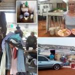 Южноафриканские пост-апартеидные «белые сквоттерские лагеря», где сотни семей живут в нищете