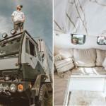 Молодая пара превратила старый грузовик в дом своей мечты