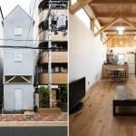 Втиснуться между высотками, или Как японские архитекторы строят узкие дома