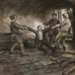 Ужасы Октябрьского переворота на рисунках очевидца