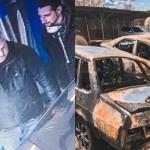 В Харькове полицейскому сожгли автомобиль