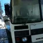 Во Владимире загорелся автобус с журналистами, ехавшими проверять ТЦ на пожароопасность
