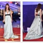 Дакота Джонсон покрасовалась в платье Gucci, «пронзенном» стрелами