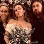 Мама Майли Сайрус показала первое фото со свадьбы дочери