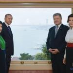Порошенко поблагодарил Эрдогана за «крымскую» резолюцию ООН