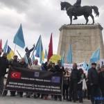 В столице Турции прошел митинг против оккупации Крыма