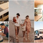 Австралийская пара бросила работу, чтобы путешествовать с детьми в переделанном автобусе