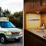 Американец превратил карету скорой помощи в уютный домик