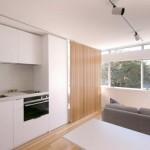 Австралиец превратил квартиру площадью 24 кв м в уютные апартаменты