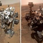 Лучшие кадры за 7 лет, сделанные космическим аппаратом НАСА Curiosity на Марсе