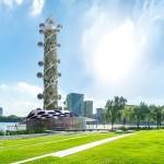 В Нидерландах разработали небоскреб-аттракцион, наружные лифты которого вырабатывают электроэнергию