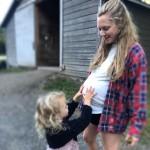Аманда Сейфрид впервые показала, как выглядела во время второй беременности