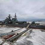 Командир российского эсминца украл бронзовые гребные винты с корабля